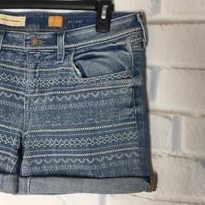 Pilcro and the Letterpress 29 Jean Shorts Stet